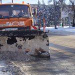 Уборка снега в Харькове: где чистят и сколько машин задействовано