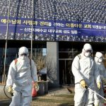 Число зараженных коронавирусом в Южной Корее за сутки увеличилось вдвое