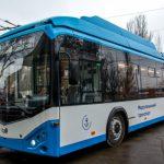 Мариуполь получил первый из 72 новых троллейбусов по европейской программе