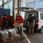 Красный Крест передал помощь для интерната на Луганщине, в котором в пожаре погибли люди