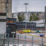 В Швеции произошел пожар в Шахте: заблокированными оказались 130 человек