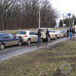 Пять автомобилей столкнулись на Белгородском шоссе (фото)