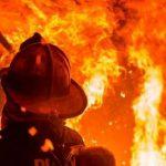 В Нововодолажском районе при пожаре погиб человек