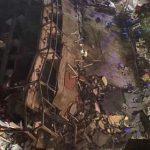 В Китае обрушилось здание отеля, которое использовали для карантина (видео)