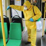 В Константиновке каждый час выполняется дезинфекция автобусов
