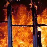 Во время тушения пожара женщина получила 80% ожогов тела