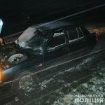 Похититель «Славуты» не справился с управлением и бросил машину в поле