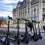 В Одессе запустили прокат электросамокатов Kiwi. Скоро запустят и в Киеве