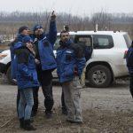 Беспилотник ОБСЕ зафиксировал около 50 единиц вооружения боевиков «ЛНР» рядом с линией столкновения