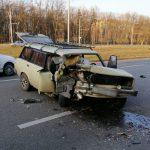 На Московском проспекте в ДТП попали четыре авто — пять человек пострадали (фото)