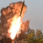 Северная Корея впервые в этом году запустила снаряды