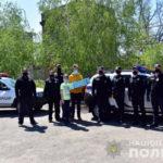 Полицейские Мариуполя поздравили с 16-летием сына погибшего от пули боевика «ДНР» сотрудника