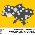 В Украине зафиксирован 1251 случай коронавирусной болезни COVID-19