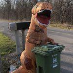 Австралийцы запустили флешмоб: выносят мусор в карнавальных костюмах