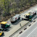 Ремонт дороги Киев — Харьков в границах Полтавской области обещают закончить в этом году