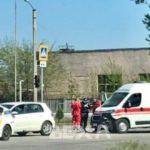 На Московском проспекте произошло тройное ДТП с участием кареты скорой помощи (фото)