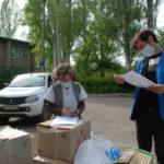Волонтеры предоставили медикам Авдеевки средства индивидуальной защиты