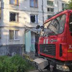 Пожар на улице Танкопия: погиб человек