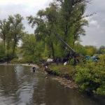 Спасатели спасали реку Уды от заторов