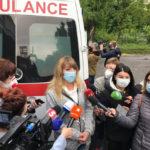 В Харькове водители и медики «скорой» требуют выплаты надбавок (видео)
