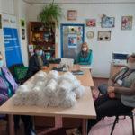 Жителям Попаснянского района на Луганщине передали 1800 защитных масок