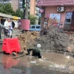В Краматорске человек провалился в яму недостроенной ливневой канализации: фото