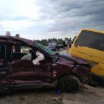 В Печенегах в ДТП пострадал ребенок и двое взрослых — виновник аварии сбежал