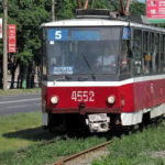 С понедельника трамвай №8 изменит маршрут движения, а №5 — не будет ходить