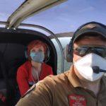 В Харьков из области на самолете доставили мальчика с черепно-мозговой травмой