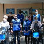 Волонтеры передали в Станицу Луганскую электровелосипеды для социальных служб