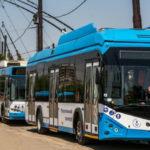 Транспортный парк в Мариуполе пополнился пятью новыми троллейбусами