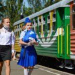 В оккупированном Донецке начала работать детская железная дорога