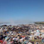 Под Селидово произошел пожар на полигоне твердых бытовых отходов: что известно