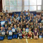 Команда Донецкой области стала лучшей в региональных соревнованиях по спортивной аэробике