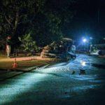 В Краматорске произошло ДТП: автомобиль слетел в кювет и столкнулся с деревом
