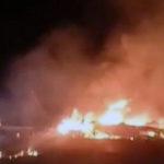 В аварии военного самолета под Чугуевом погибли 18 человек — МВД