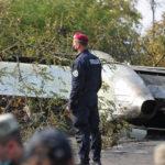 Обломки АН-26 перевезены на территорию военной части в Чугуеве — Уруский