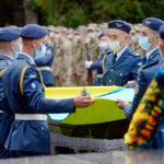 В Харькове простились с погибшим в авиакатастрофе под Чугуевом курсантом Виталием Вильховым