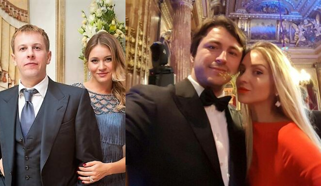 Сергей Притула и Виталий Хомутынник с женами