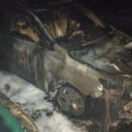 В Лозовой кандидату в мэры сожгли Lexus (обновлено, добавлены фото)