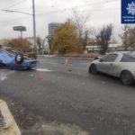 В ДТП на проспекте Ландау пострадали два водителя