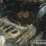 Сгоревший Lexus кандидата в мэры — в полиции расследуют обстоятельства поджога