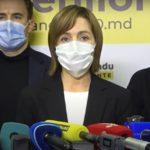 Санду обошла Додона в первом туре выборов президента Молдовы