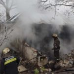 В Харькове во время пожара погиб 85-летний мужчина