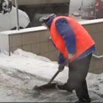 Украину засыпало снегом: фото
