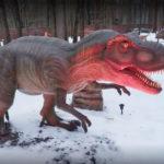 В Харькове открылся парк динозавров