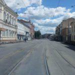 Московский проспект открыли для автотранспорта