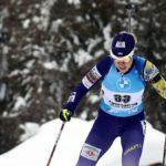 Украинка Джима финишировала второй в индивидуальной гонке на этапе Кубка мира в Антхольце