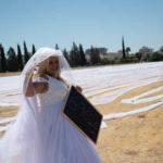 Невеста с фатой длиной 7000 метров попала в Книгу рекордов Гиннесса